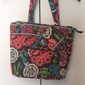 Vera Bradley PreOwned Tote & Matching Wallet